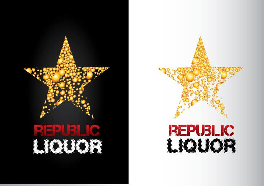 #353 for Design a Logo for republic liquor by GeorgeOrf