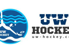 #117 para Design a logo for uw-hockey website por nilankohalder