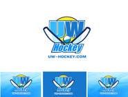 Design a logo for uw-hockey website için Graphic Design114 No.lu Yarışma Girdisi