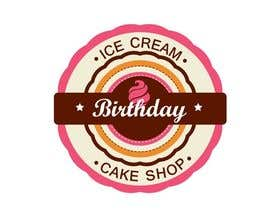 #54 untuk Design a Logo for  ice cream birthday cake shop oleh KnowledgeShine