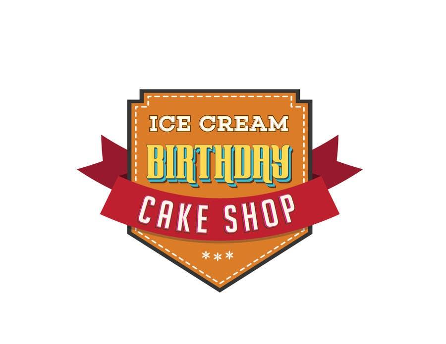 Contest Entry 74 For Design A Logo Ice Cream Birthday Cake Shop