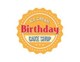 #76 untuk Design a Logo for  ice cream birthday cake shop oleh navadeepz