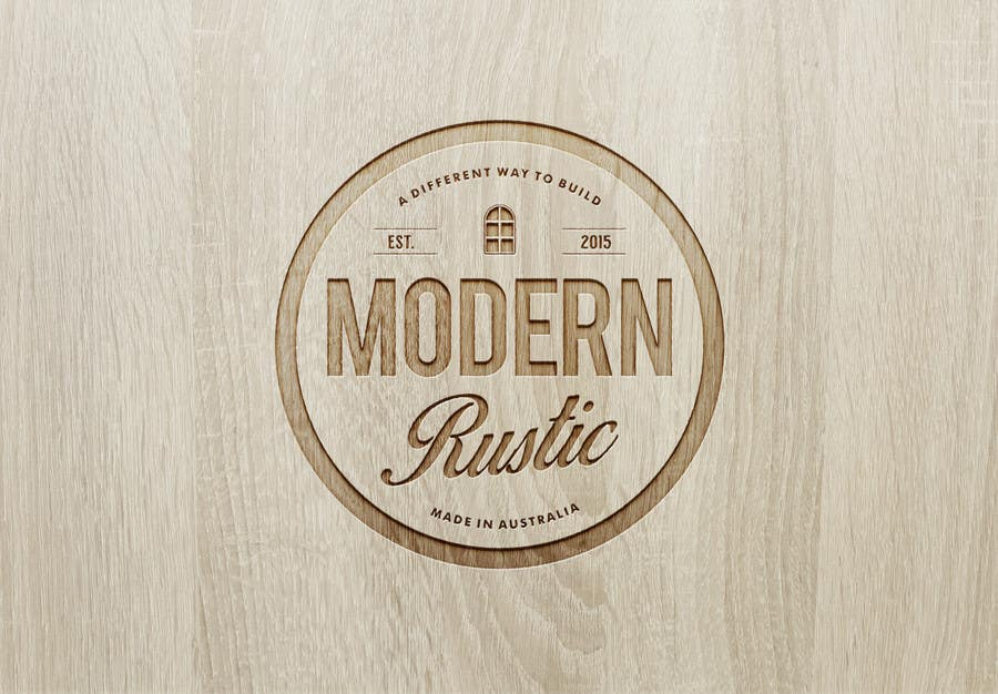Contest Entry 75 For Design A Logo Modern Rustic