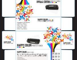 #14 untuk Create Print and Packaging Designs for HAPPY COLOR Printer toner box oleh Med7008