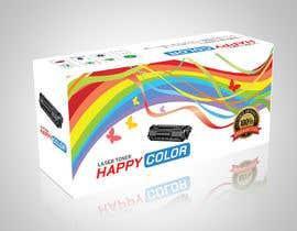 #28 untuk Create Print and Packaging Designs for HAPPY COLOR Printer toner box oleh abhikreationz