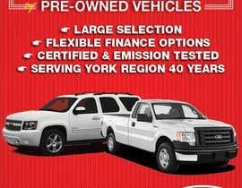 #6 untuk Design an Advertisement for Car Dealership oleh terrorvicky