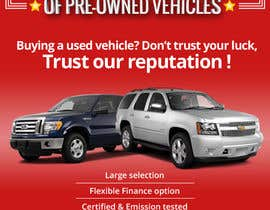 sumitrz tarafından Design an Advertisement for Car Dealership için no 15
