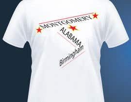 elliondesignidea tarafından Alabama Tee  (Montgomery) için no 17