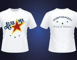 hotgakwon tarafından Alabama Tee  (Montgomery) için no 5