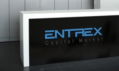 #29 untuk Design a Logo for Entrex Capital Market oleh meshkatcse