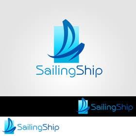 #10 untuk Design a Logo of a sailing ship oleh zubidesigner