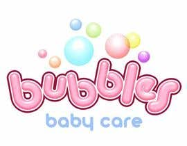 #235 for Logo Design for brand name 'Bubbles Baby Care' by richhwalsh