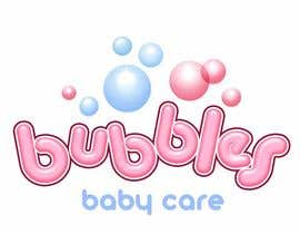 #240 para Logo Design for brand name 'Bubbles Baby Care' por richhwalsh