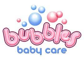 #202 para Logo Design for brand name 'Bubbles Baby Care' por richhwalsh