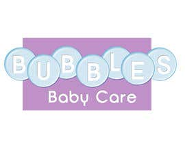 #67 para Logo Design for brand name 'Bubbles Baby Care' por buttaflypixie