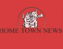 nº 52 pour Icon and Magazine Name design for new company, Hometown News par biswadebpanda