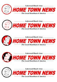 #46 for Icon and Magazine Name design for new company, Hometown News by raycboston