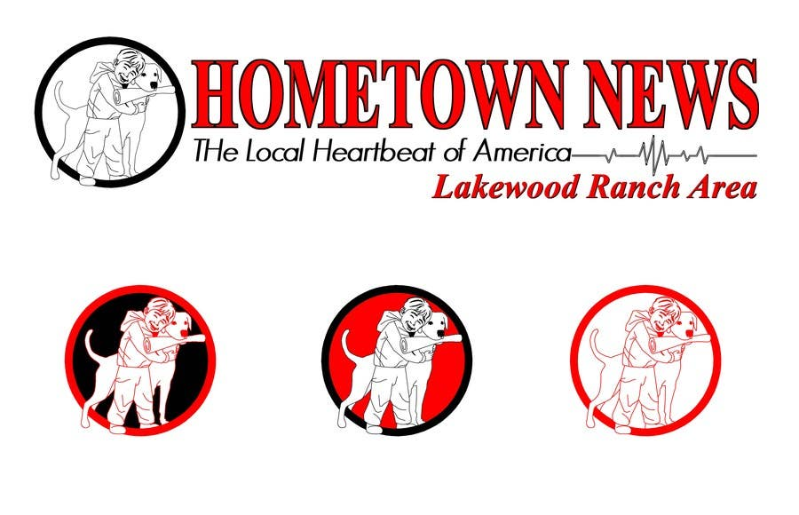 #50 for Icon and Magazine Name design for new company, Hometown News by raycboston