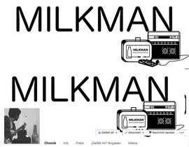 #5 untuk Design a Banner for Milkman Recordings Facebook Page oleh morietschel