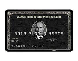 #26 untuk Design American Express Black Card similar copy oleh roops84