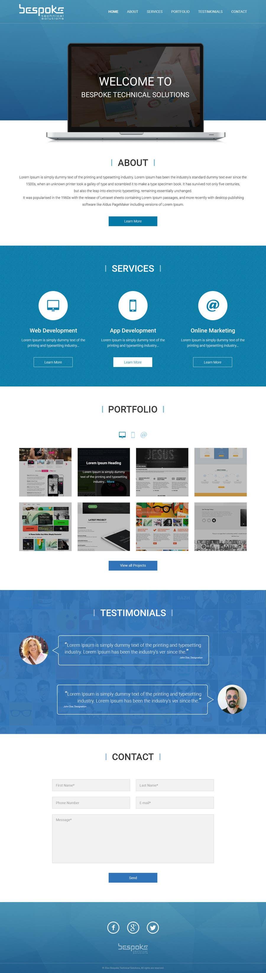 Penyertaan Peraduan #1 untuk Create a Wordpress Template for btsperth.com.au