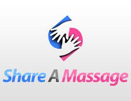 #52 para Share A Massage Logo Contest por pong10