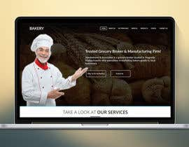 #6 for Design a Website Mockup for a bakery by harisramzan11
