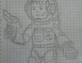 #6 untuk Create a space commander based on a real kid (4 years old boy) oleh vhino0315