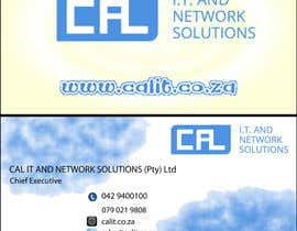 #7 untuk Business card design – logo and info supplied oleh okkyhw