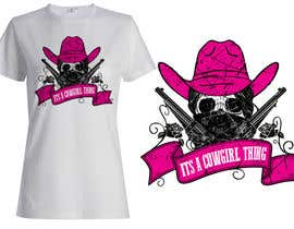 #35 untuk Design a T-Shirt for Cowgirl Grunge design oleh griffindesing