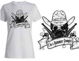 #36 untuk Design a T-Shirt for Cowgirl Grunge design oleh griffindesing
