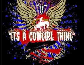tengry888 tarafından Design a T-Shirt for Cowgirl Grunge design için no 8