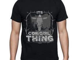 VikiFil tarafından Design a T-Shirt for Cowgirl Grunge design için no 30