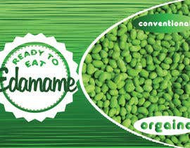 #10 untuk Design a package for ready to eat edamame or mukimame oleh StephanGMK
