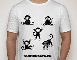KaimShaw tarafından Design eines T-Shirts for fanmonkeys.de için no 48