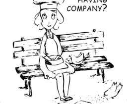 #6 untuk Drawing for Chef feeding Pigeons oleh an83