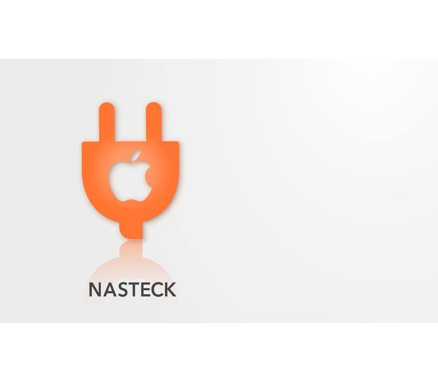 Penyertaan Peraduan #8 untuk Design a Logo for Nasteck (Company that sells Apple products)