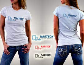 #21 untuk Design a Logo for Nasteck (Company that sells Apple products) oleh Naumovski