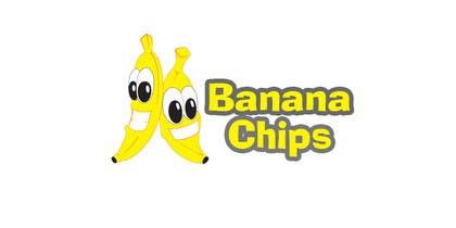 #43 untuk Logo for Banana Chips brand oleh MekRoN