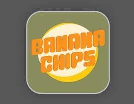 #48 untuk Logo for Banana Chips brand oleh sgmetlive