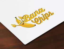 #32 untuk Logo for Banana Chips brand oleh cristinaa14