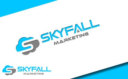 #20 untuk Logo for my new company SKYFALL MARKETING oleh Huelevel