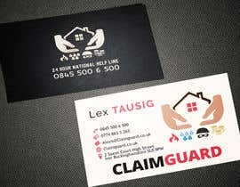 #13 untuk Design some Business Cards for Claimguard oleh AlexTV