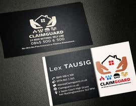 #17 untuk Design some Business Cards for Claimguard oleh AlexTV