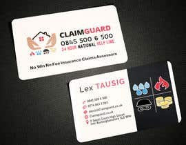 #32 untuk Design some Business Cards for Claimguard oleh AlexTV