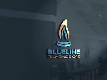 #36 untuk Design a Logo for Blueline Plumbing & Gas oleh silverhand00099