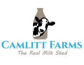 #40 for Design a Logo for Camlitt Farms - The Real Milk Shed by asikata