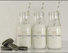 #33 for Design a Logo for Camlitt Farms - The Real Milk Shed by chelsearoper