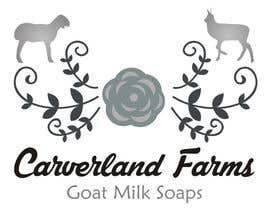 #13 untuk Design a Logo for Carverland Farms Goat Milk Soap oleh amjadawan1