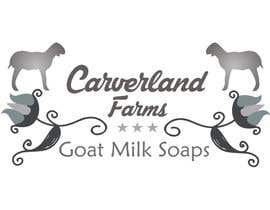 #14 untuk Design a Logo for Carverland Farms Goat Milk Soap oleh amjadawan1